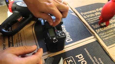 How to replace TOP LCD screen cover on Nikon D7000 ,D7100