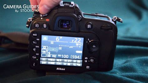 How to change the aperture (f-stop) on the Nikon D7100